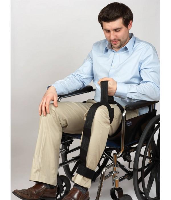 Faixa para posicionamento da perna