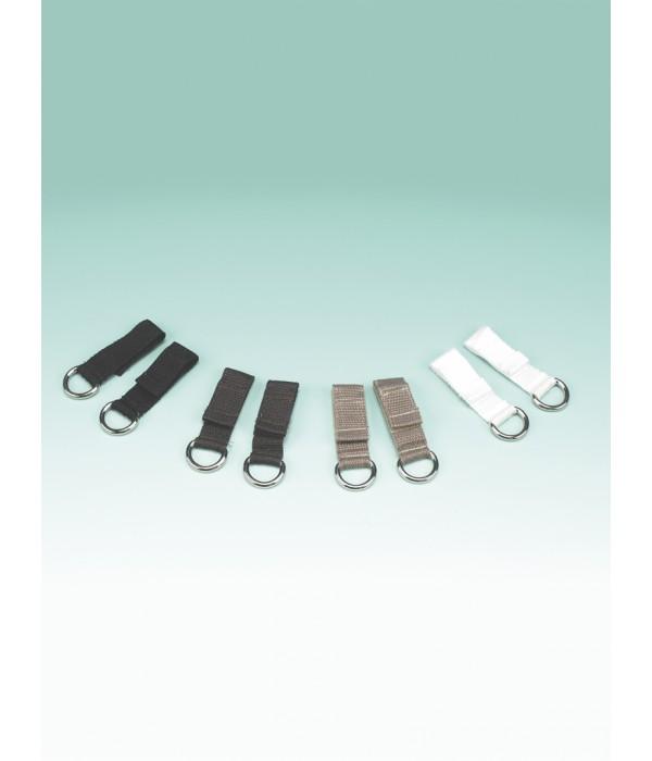 Fecho fácil para sapatos – preto - 2 unidades