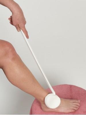 Haste giratória com aplicador de creme e loções