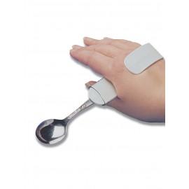 Adaptador plástico para mão