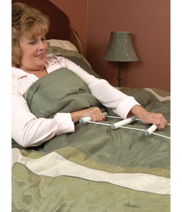 Escada de corda para posicionamento na cama